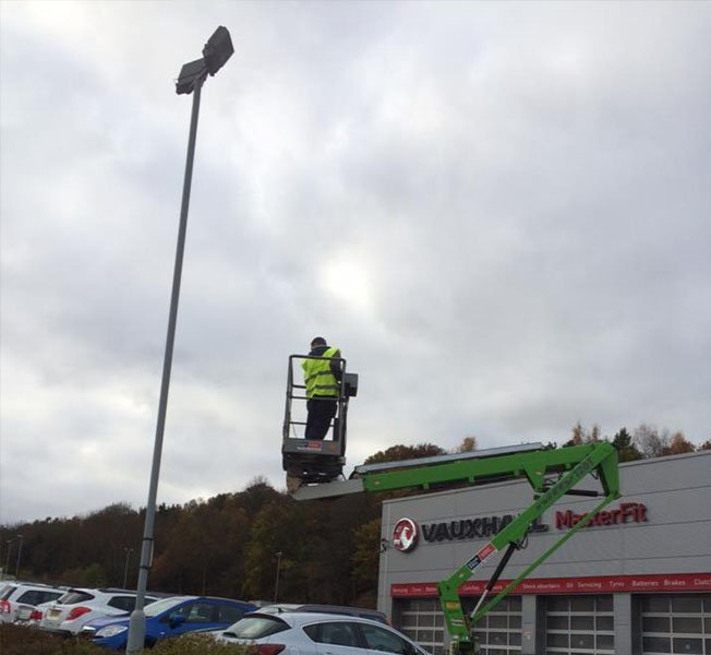 Commercial Lighting Maintenance in Worksop